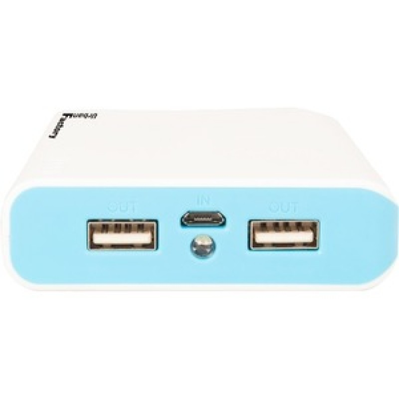 Urban Factory WHITE EMERGENCY BATTERY 10400MAH 1USB 1A CABLE