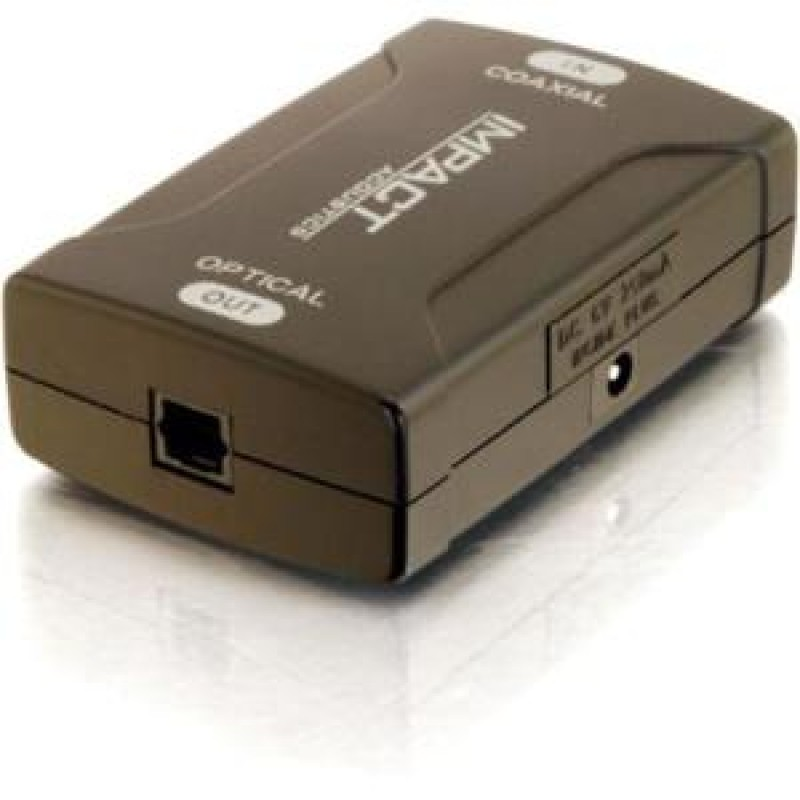C2G Coaxial to TOSLINK Optical Digital Audio Converter