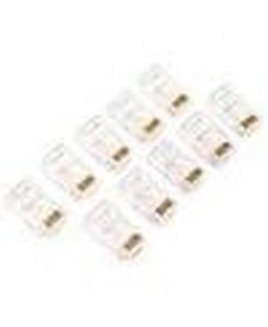 Belkin - Cables 100PK RJ45 MODULAR CONNECTOR KIT FOR 10BT PATCH CORD
