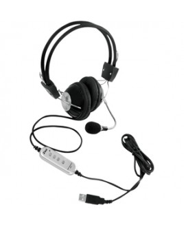 Pyle - Pro Sound MULTIMEDIA/GAMING USB HEADSET W/ NOISE-CANCELING MICROPHONE