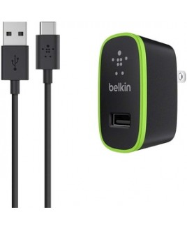 Belkin Mobile USB-C TO USB-A CABLE WITH UNIVERSAL HOME CHARGER RETAIL BOX