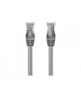 Belkin patch cable - 6.6 ft - gray