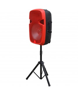 IQ Sound Speaker System - Wireless Speaker(s) - Portable - Battery Rechargeable - Red