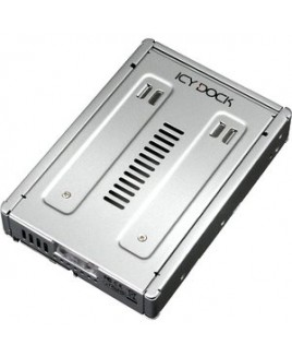 Icy Dock MB982IP-1S-1 Drive Bay Adapter Internal - Silver