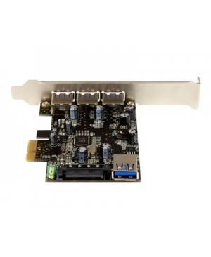 StarTech.com 4-port PCI Express USB 3.0 Card - USB adapter