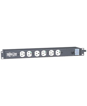 Tripp Lite 12 OUTLET MEDICAL POWER STRIP RACKMOUNT NOT FOR PATIENT CARE 15A