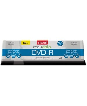 Maxell MAXELL 4.7 GB 16X DVD-R 15 SPINDLE