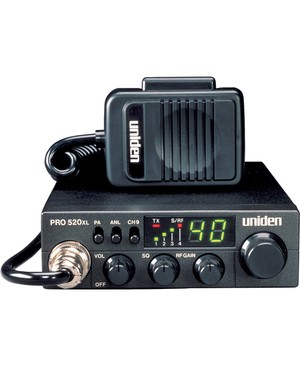 Uniden 2-Way Radio UNIDEN CB 2WAY CB RADIO 40CH COMPACT 7WAT