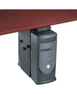 Fellowes PRO SERIES UNDERDESK CPU SUP ADJUSTS TO ACCOMMODATE ANY CPU