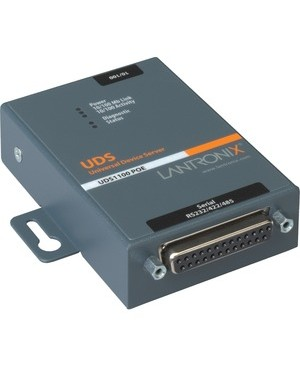 Lantronix Device Networking UD11000P0-01 DEVICE SERVER 1PORT 10/100 POE 802.3AF