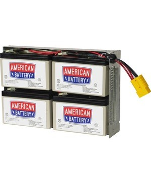 American Battery RBC23 REPLACEMENT BATTERY PK FOR APC UNITS 2YR WARRANTY