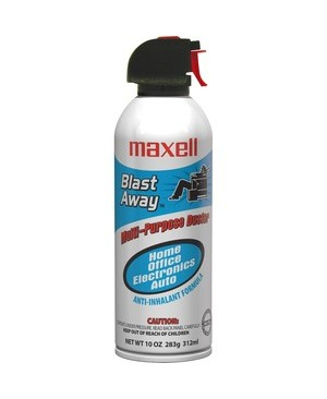 Maxell CANNED AIR CA-3 10OZ **MUST SHIP GROUND**