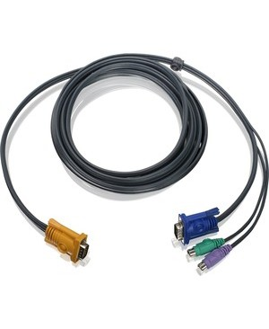 Iogear 10FT PS/2 KVM CABLE FOR USE W/ GCS1716