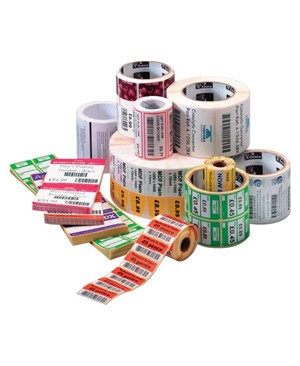 Zebra Print S1 - Supplies 6PK Z-PERFORM 2000T LABELS 4IN X 3IN 890 LABELS/ROLL 66105RM