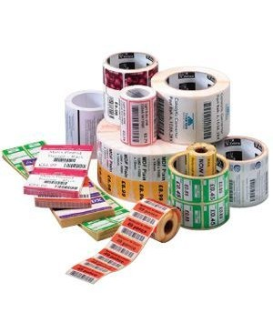 Zebra Print S1 - Supplies 4PK Z-SELECT 4000D 7.5 MIL TAG W/SENS IN G NOTCH 4X3IN 730/ROLL