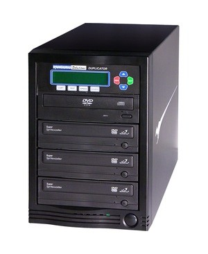 Kanguru DVD DUPLICATOR 1 TO 3 24X LIGHTNING FAST COPIES OF DVDS & CDS