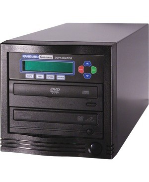 Kanguru DVD DUPLICATOR 1 TO 1 24X LIGHTNING FAST COPIES OF DVDS & CDS