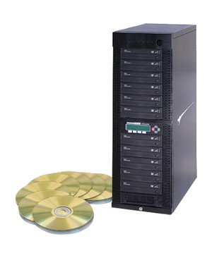 Kanguru DVD DUPLICATOR 1 TO 11 24X 500GB MASTER HDD TO COPY DVDS