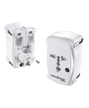 Conair-Travel Smart ADAPTER W/ SURGE PROTECTION ALL IN ONE