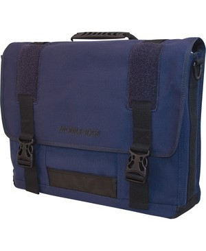 Mobile Edge BLUE CANVAS ECO MESSENGER 17.3IN PC/17IN MAC