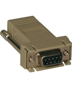 Tripp Lite RJ45-F MODULAR SERIAL ADAPTER DB9-F STRAIGHT THROUGH WIRING