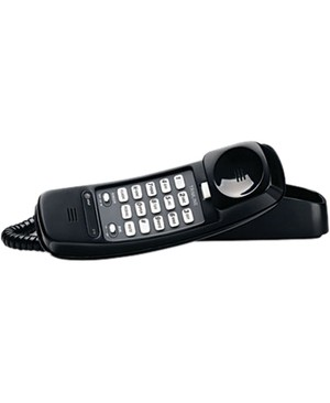 At&T AT TRIMLINE CORDED PHONE BLK W/MEMORY DIALING