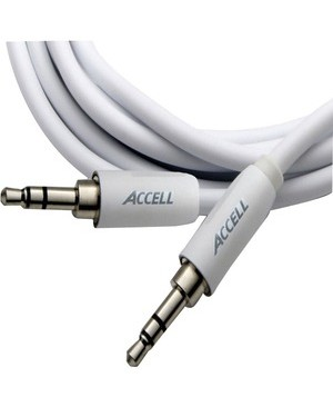 Accell 3.5MM STEREO CABLE M TO M IPOD 2M