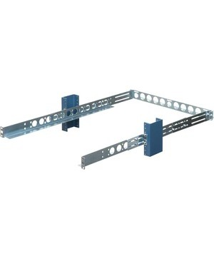 Innovation First / Rack Solutions UNIVERSAL FIXED RAIL 1U 2POST CENTER OR FLUSH MOUNT