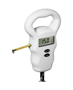 Conair-Travel Smart DIGITAL LUGGAGE SCALE W/ TAPE MEASURE