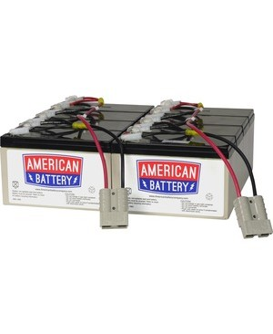 American Battery RBC12 REPLACEMENT BATTERY PK FOR APC UNITS 2YR WARRANTY