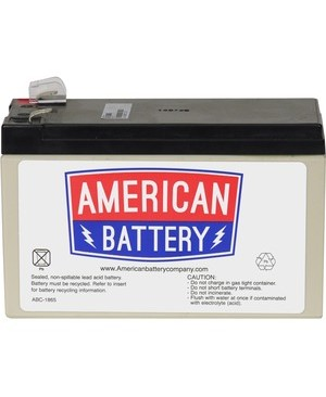 American Battery RBC2 REPLACEMENT BATTERY PK FOR APC UNITS 2YR WARRANTY