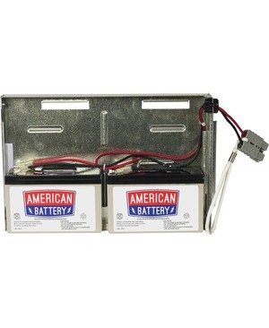 American Battery RBC22 REPLACEMENT BATTERY PK FOR APC UNITS 2YR WARRANTY