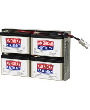 American Battery RBC24 REPLACEMENT BATTERY PK FOR APC UNITS 2YR WARRANTY