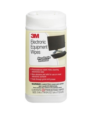 3M - Workspace Solutions ELECTRONIC EQUIPMENT WIPES 80CT TUB