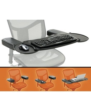 Ergoguys MOBO CHAIR MOUNT ERGO KEYBOARD AND MOUSE TRAY SYSTEM
