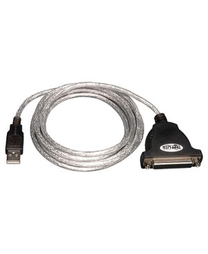 Tripp Lite 6FT USB TO IEEE PRINTER CABLE 1284 PARALLEL ADAPTER USB-A TO DB25