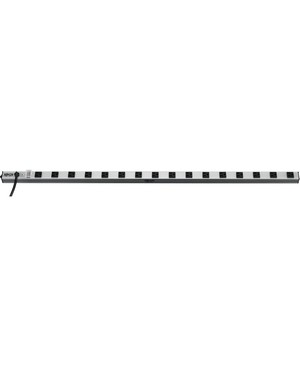 Tripp Lite 16 OUTLET SURGE STRIP 15FT CORD 1650 JOULES METAL 48 IN LENGTH