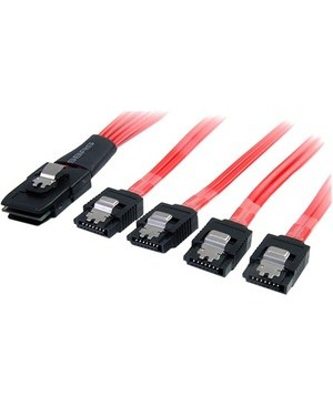 Startech.Com 50CM MINI SAS TO SATA SFF-8087 TO 4X SATA CABLE