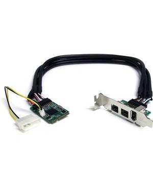 Startech.Com 3PORT MINI PCIE FIREWIRE CARD ADAPTER