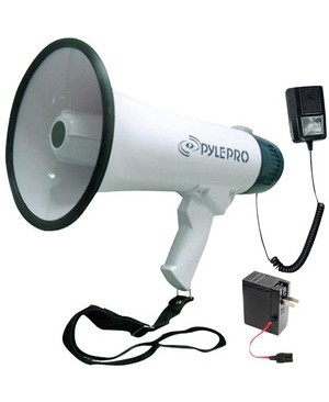 Pyle - Pro Sound PROF DYNAMIC MEGAPHONE W/ RECORDING FUNCTION/DETACHABLE MIC