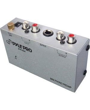Pyle - Pro Sound ULTRA COMPACT PHONO TURNTABLE PREAMP