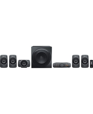 Logitech - Computer Accessories Z906 5.1CH BLK RCA 500W DOLBY SURROUND SUBWOOFER