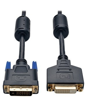 Tripp Lite - Pro Av 6FT DVI MONITOR EXTENSION CABLE DIGITAL TMDS DUAL LINK DVI-D M/F