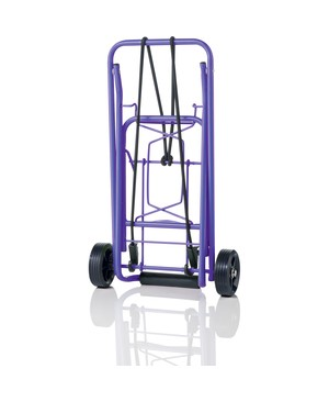 Conair-Travel Smart 75 LB FOLDING CART PURPLE MULTI USE CART