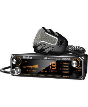 Uniden 2-Way Radio UNIDEN CB COLOR B/L NOISE CANCELING MIC SSB