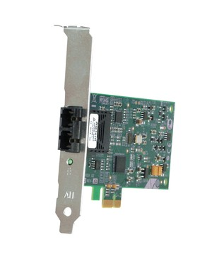 Allied Telesis Box 32BIT 100MBPS PCIE FAST ENET FIBER ADAPTER CARD AND LC CONNECTOR