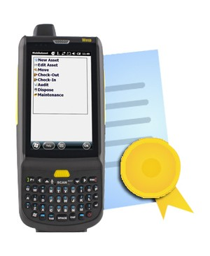 Wasp Fast Start/Silver Partners WASP HC1 QWERTY MOBILE COMPUTER AND INVENTORY CONTROL MOBILE LICS