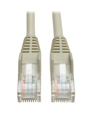 Tripp Lite Connectivity 12FT CAT5E GRAY PATCH CABLE CAT5 SNAGLESS MOLDED M/M RJ45 350MH