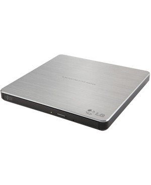 Lg - Network Attached Storage 8X DVD RW MDISC EXT USB TRAY RETAIL SILVER DL MAC ULTRA SLIM SW