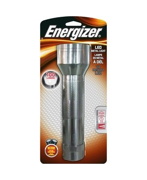 Energizer-Batteries ENERGIZER 2D LED METAL LIGHT BRIGHT WHITE LED